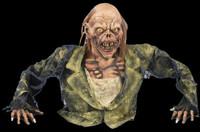 Life Size Zombie Ground Breaker Corpse Grave Halloween Prop Decoration Decor