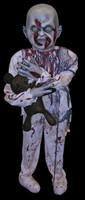Life Size Standing Little Mutilated Zombie Boy Halloween Prop Decoration Decor