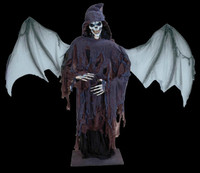 """Life Size Satanding 80"""" Lord of Death Reaper Halloween Prop Decoration Decor"""