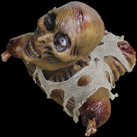 Life Size Ground Crawler Zombie Torso Halloween Haunted Prop Decoration Decor