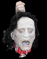 Life Size Fresh Beheaded Severed Head Puppet Halloween Prop Illusion