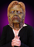 Hillary Clinton Creature from the Black Lagoon Politician Halloween Costume Mask