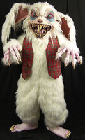 Haunt Quality Extreme Peter Rottentail Evil Bunny Rabbit Halloween Mask Costume