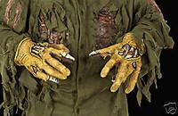 Friday 13th Movie Jason Hands Halloween Mask Costume