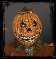 Evil Pumpkin Rot Jack-O-Lantern Halloween Costume Mask