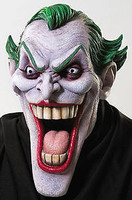 DC Comic Batman The Joker Halloween Mask Costume Prop