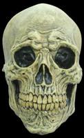 Death Skull Natural Bone Wrinkled Detailing Halloween Costume Mask
