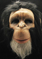 Chimpanzee Monkey Ape Gorilla Halloween Mask