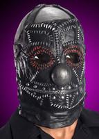 Gothic Slip Knot Slipknot Band Black Clown Halloween Costume Mask