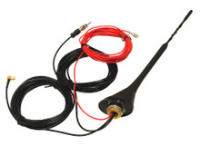 DAB, AM, FM Active Amplified Roof Mount Antenna with 5m Cables