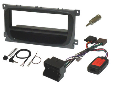 Ford Single Din Fitting Kit with Steering Controls