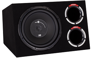 Vibe SLICK Series CBR Bass Reflex Enclosure, 400 watts RMS