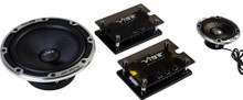 Vibe BlackAir 6C Black Edition 3 Way Concentric Component Speaker