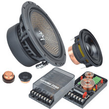 GZUC 65.3SQX 165 mm / 6.5″ 3-way semi-active component speaker system