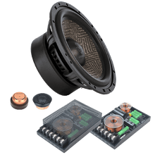 GZUC 650SQ-II 165 mm / 6.5″ 2-way component speaker system
