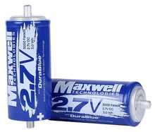 Maxwell 2.7v Durablue 3000F Super Capacitor - Main View