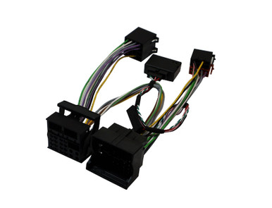 10-504-IGN BMW Quadlock ISO Mute SOT Cable with CAN Ignition