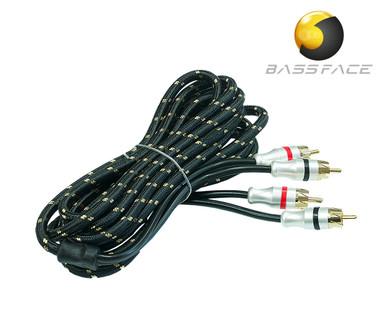 BASS FACE PRCA3.2 Quad Core Pure OFC Twist Shielded RCA Audio Cable 3m Length - Main View