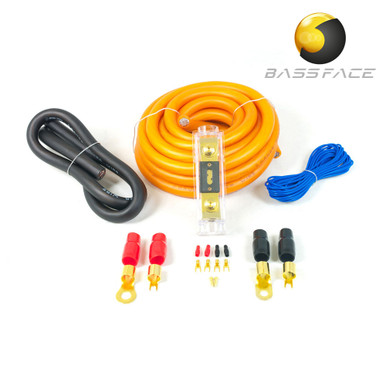 BASS FACE PWK0.1 0AWG 50mm High Flex 12v Amplifier Power Wiring Kit