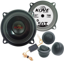"KOVE KC50T 2-way Component Set 5.25"" (13cm)"