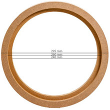 "MDF RING FOR 10"" or 25cm (PAIR OF)"