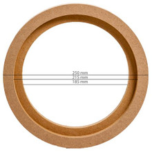 """MDF RING FOR 8"""" or 20cm (PAIR OF)"""