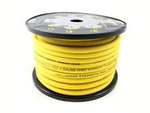Hollywood OFC 4 AWG POWER CABLE - Yellow