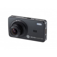 "Echomaster DC-27-G 2.7"" Dash Cam With Motion Detection & GPS"