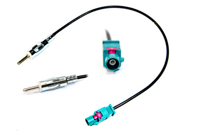 21-123 CITROEN DISPATCH 2007 to 2016 FAKRA TO DIN AERIAL ANTENNA ADAPTOR