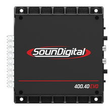 SOUND DIGITAL AMPLIFIER 400.4D EVO
