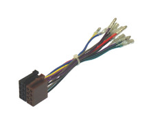 Male ISO Power and Speaker to Bullet Wires