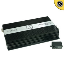 BASS FACE XDB1.1FR 1Ohm Class D Monoblock Full Range 12v Power Amplifier 2500w RMS