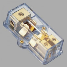 US Blaster USB 6107 Fused Distribution Block - 1 x 4 AWG IN / 2 x 8 AWG OUT