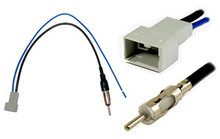 Honda, Mazda, Suzuki Antenna / Aerial Adapter to Male DIN