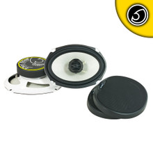 "BASS FACE SPL69.1 6x9"" Inch 15x23cm 4 Ohm Coaxial 2 Way Speaker Pair"