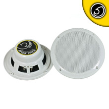 "BASS FACE SPL6.2 Waterproof Coaxial Speakers - - 6.5"" Inch 17cm 4 Ohm"