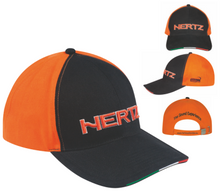 Hertz Orange & Black Cap