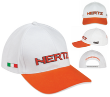 Hertz Orange & White Cap