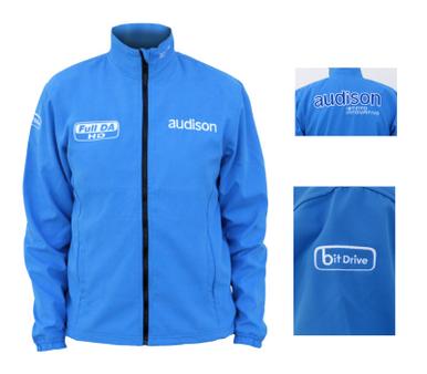 Audison Blue Softshell Jacket