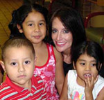 Sandi Hammons and Children