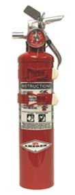 Amerex C352TS (2.5 lbs.) Halon 1211  Fire Extinguisher