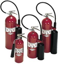 Amerex 322 (5 lb) Carbon Dioxide Fire Extinguisher
