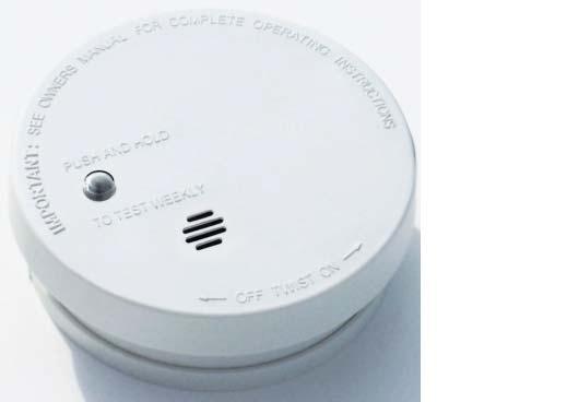 Kidde I9040 9v Battery Operated 4 Smoke Alarm