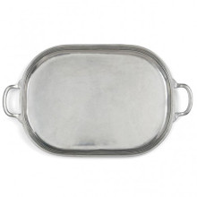 Pewter Large Oval Tray