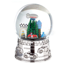 Race Car Waterglobe