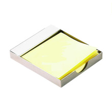 Silver Post It Holder