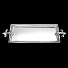 French Lily Oblong Tray
