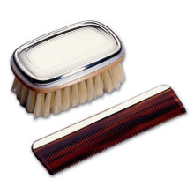 Boy's Brush & Comb Set Sterling Silver