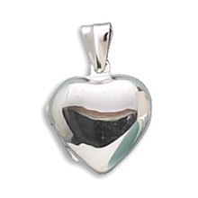 Heart Locket  Sterling Silver