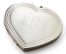 Heart Mirror Compact